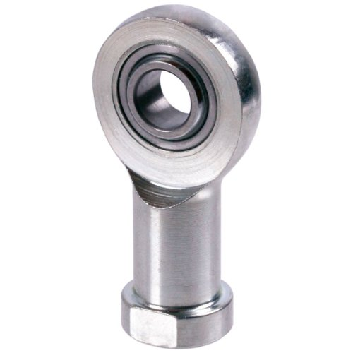 Ametric® , SIL 12 E-F Metric Rod End Spherical Self-Lubricating , 12 mm Bore (d1), M 12 LH Cetop Metric Thread (d3), 34 mm Outside Dia. (d6) 10 mm Bearing Width (b1), 8 mm Rod End Head Width (b3), 50 mm Height (h), 22 mm Thread Length (i), 5 Max Degrees of Tilt (o), 19 mm width across flat (SW), 0.096 kg (Weight), 11.4 kN (Dynamic Load Rating), 24.5 kN (Static Load Rating), , Price listed is for one rod End., (Mfg Code 1-069)