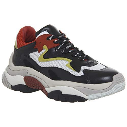 Ash Scarpe Addict Sneaker Rosso e Nero Donna 40 Nero/Rosso
