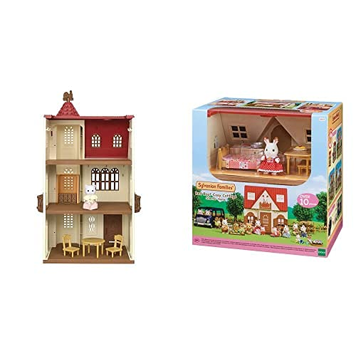 SYLVANIAN FAMILIES -La Casa del Torreón Doll House (Epoch para Imaginar 05400)+ - 5303 - Casa De Campo