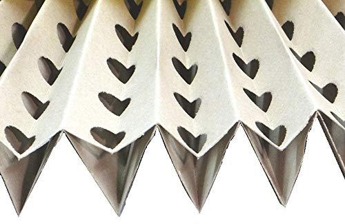 1x Faltkartonfilter 11x0,9 m / 0,9x11m Farbnebel Kartonfilter für Lackierung Lackierkabine Spritzwandfilter, Absaugwandfilter Lackierkabinenfilter Sprühbox Airbrush Farbe Lack Grundierung Rostschutz