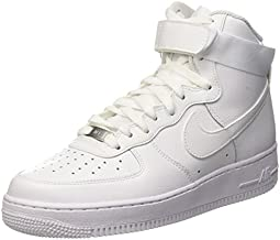 Nike Men's Air Force 1 High 07 Basketball Sneakers White Size 9.5 D (US)