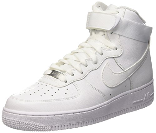 Nike Air Force 1 High '07, Zapatillas de Baloncesto para Hombre, Blanco...