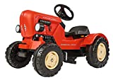 BIG 800056560 - Porsche Diesel Junior Traktor, 88 x 46 x 54 cm, rot