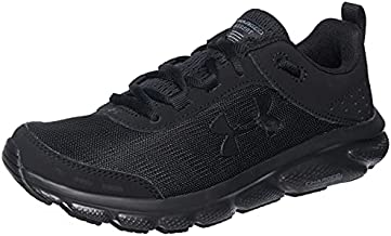 Under Armour Women's Charged Assert 8 , Black (001)/White , 11