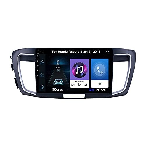 Autoradio Android Car Radio Stereo 9 Pulgadas Pantalla Táctil Para Honda Civic 10 2015-2020 Para De Coche Conecta Y Reproduce Autoradio Mit Bluetooth Freisprecheinrichtung (Color : 8Cores 4G 4G64G)