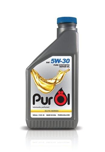 PurOl Elite Synthetic Motor Oil 5w30 1-liter...