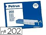 El Casco - Grapas petrus bambina nº 202 -caja de 1000 grapas (20 unidades)
