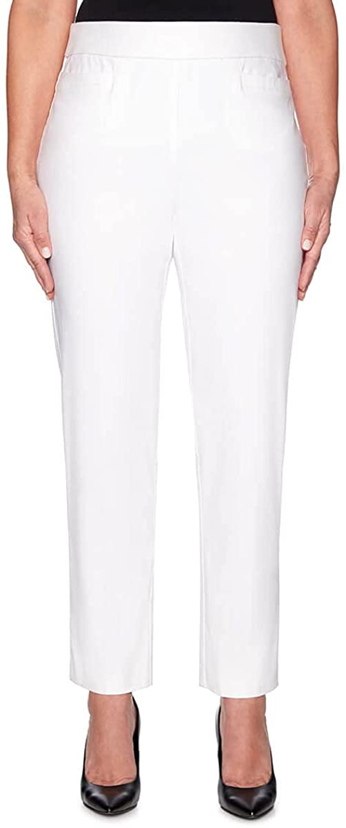 Alfred Dunner Women's Proportioned Medium Allure Slim Pant