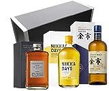 Coffret Cadeau Vinaddict - Whiskys japonais : Nikka From the Barrel, Nikka Days & Yoïchi Single Malt.