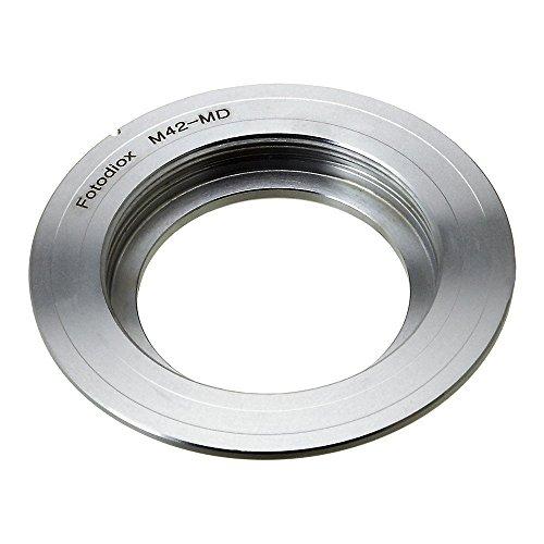 Fotodiox Pro Lens Mount Adapter - M42 Screw Mount SLR Lens to Minolta SR (MD, MC) Mount SLR Camera Body