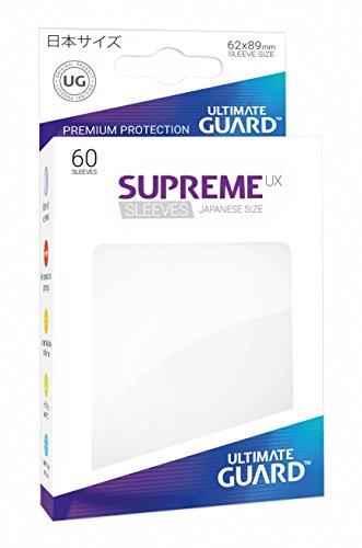 Ultimate Guard UGD010570 Supreme UX Sleeves, Japanische Größe, weiß
