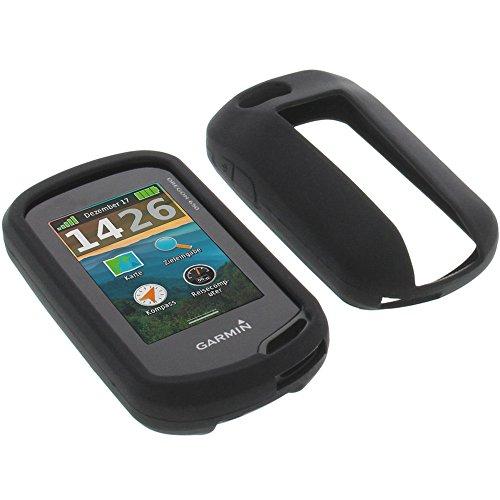 foto-kontor Tasche für Garmin Oregon 650 Oregon 650t Schutzhülle Silikon Case Schutz Hülle schwarz
