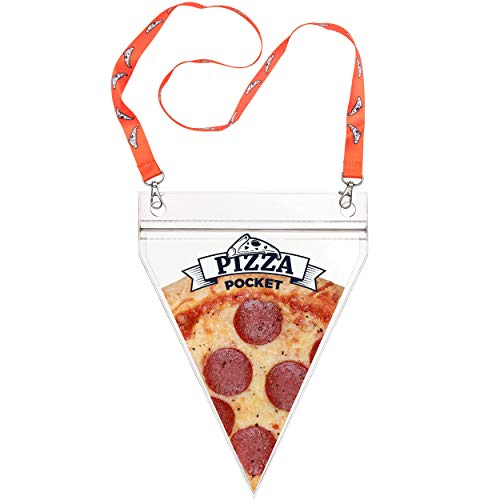 Fairly Odd Novelties FON-10279 Pizza Pouch, One size, Clear