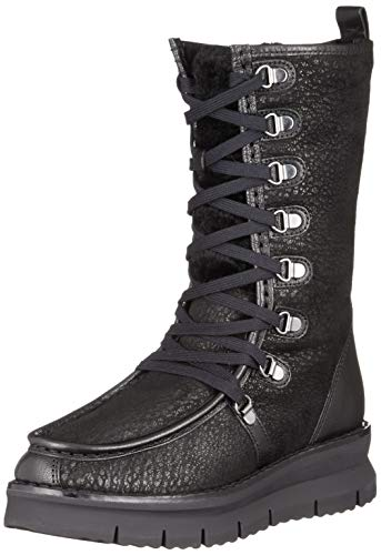 Geox D Porthya E, Stivali Alti Donna, Nero (Black C9999), 38 EU