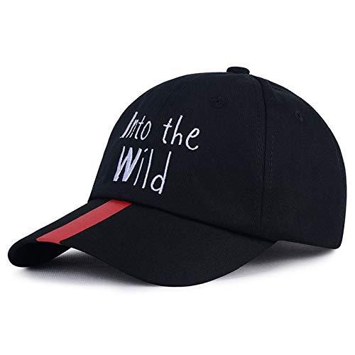 sdssup Parche Carta Bordado Sombrero de Pato Protector Solar Visera Negro Ajustable