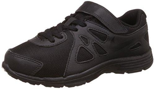 Nike Boy's Blk and Grey Sports Shoes -1.5 Kids UK(33.5 EU)(2Y US)(555083-021)