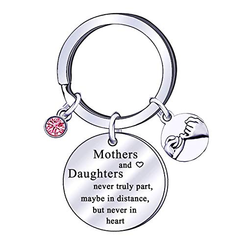 Mum Keyring Mother Gifts from Daughter Son Heart Keychain Key Ring Gift For Mum Mama Mother's Day Her Birthday Gifts