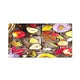 マウスパッド 超大型ゲーミングマウスパッド 秋の果物の花と収穫または感謝祭の背景は、カボチャのナッツとベリーをtに残します デスクマット 80x30cm おしゃれ い デスクパッド 滑り止め ゴムベースマウスパッド 仕事 ゲーム オフィス ホーム用 男女兼用