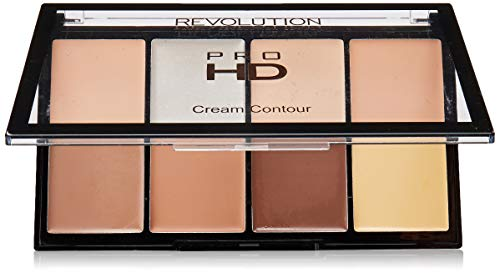 MAKEUP REVOLUTION Ultra Pro HD Cream Contour Palette Fair, 20 g