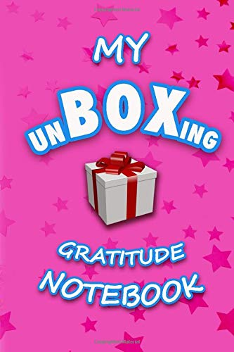My UnBoxing Gratitude Notebook: A Keepsake Notebook/Journal for the Christmas and Holiday season!