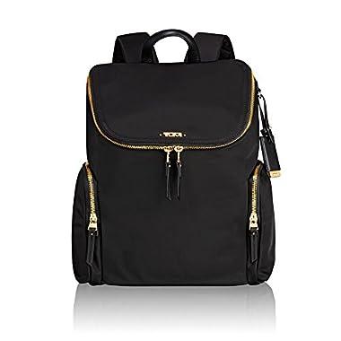 Tumi Women's Voyageur Lexa Zip Flap Backpack Black