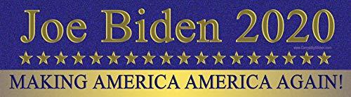 Joe Biden 2020 Making America Again Autoaufkleber oder Magnetaufkleber Bumper Sticker