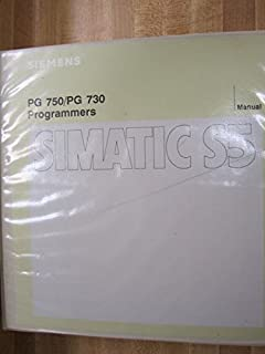 Siemens PG750/PG730 PG 750 730 Simatic S5 Manual