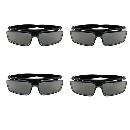 4-Pack Sony TDG-500P Passive 3D Glasses