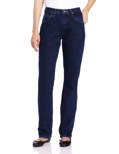 Wrangler Women's Blues Relaxed Fit Mid Rise Heavyweight Jean,Antique Indigo,14x30