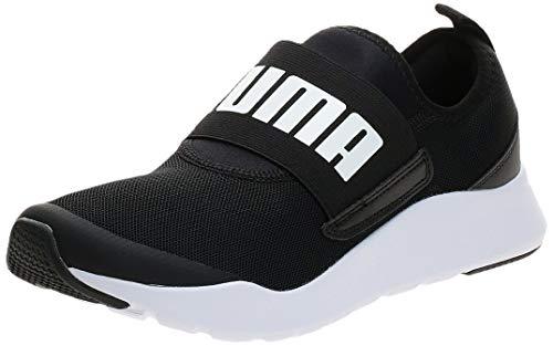 PUMA Wired Slipon, Zapatillas Unisex Adulto, Negro Black White, 36 EU