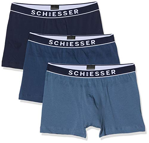 Schiesser heren boxershorts 95/5 Shorts (3Er Pack Box)