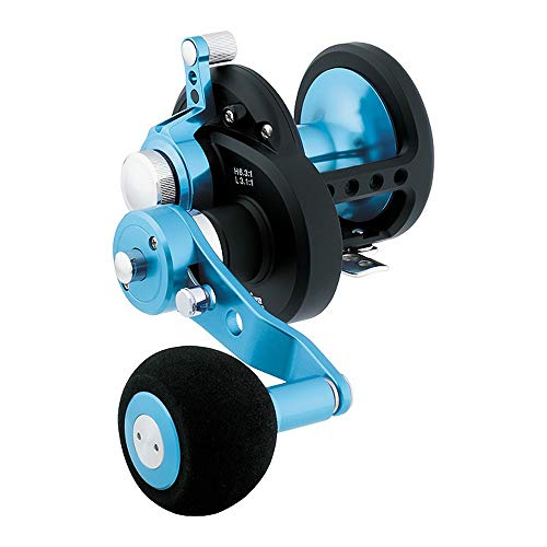 Daiwa Saltist Lever Drag 2-Speed 6.3:1/3.1:1 Right Hand Conventional Fishing Reel - STTLD35-2SPD