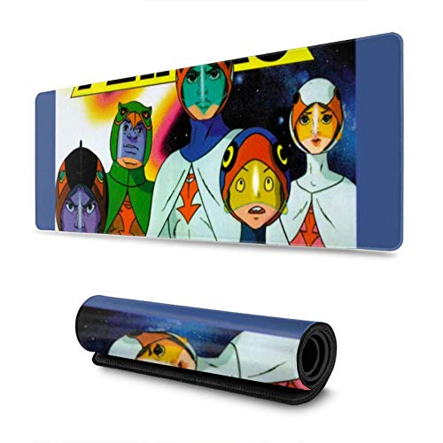"""Gaming Mouse Pad Battle of The Planets G-Force Long Extended Surface for Desktop Pc Computer Work Productivity Or Video Games,Laser Accuracy for Fast Responsiveness,11.8"""" X 31.5"""""""