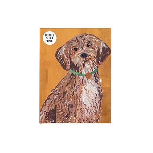 Talking Tables Rompecabezas y póster de Perro Cockapoo Naranja de Doble Cara de 100 Piezas | Animales ilustrados, Animales | para niños, Adultos, Amantes de los Perros, Regalo de cumpleaños, Navidad