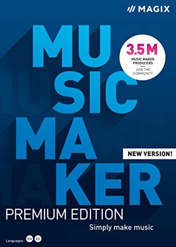 Top New Music Maker 2021 Premium Edition – More sounds. More possibilities. Simply create music. [PC Download]