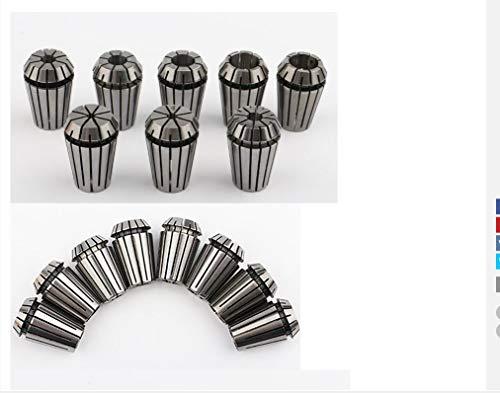 10pcs previsto 8 1 mm-5 mm 1/8' Herramienta Torno 3,175 Primavera Collet fijado for el grabado del CNC y fresado