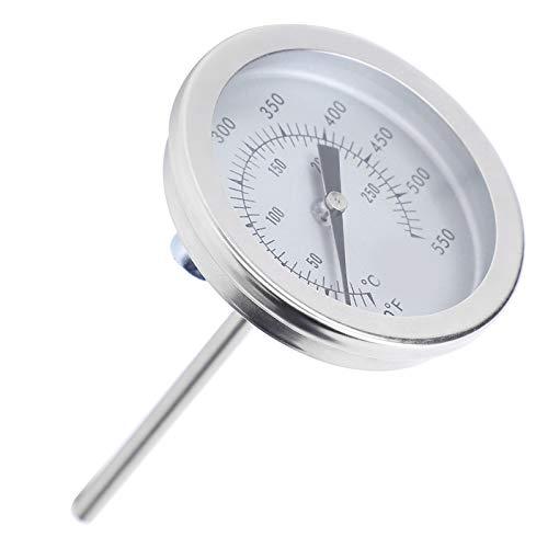Termómetro bimetálico Termómetro de cocina Termómetro de puntero Termómetro resistente a altas temperaturas antioxidante Con rosca de 5 / 16UNC para cocinar