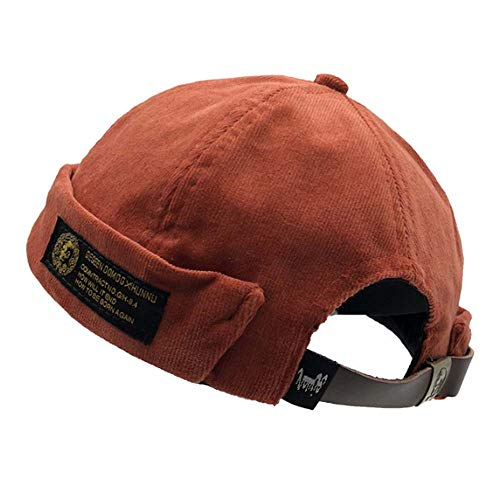 Clape Unique Watch Cap Commando Work Beanie Corduroy Docker Leon Brimless Hat Rolled Cuff Harbour Hat