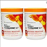 Beyond Tangy Tangerine 2.0 CITRUS PEACH FUSION - 450 G CANISTER - 2 Pack...