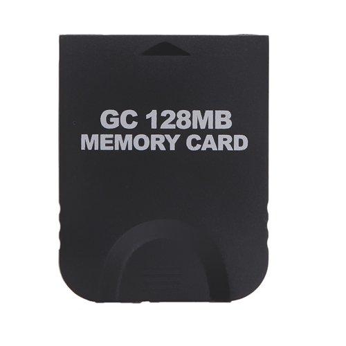 HDE 128MB (2048 Blocks) Black Memory Card for Nintendo Gamecube or Wii
