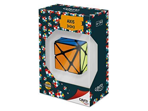 Cayro - Cubo 3x3 Axis - Juguete de ingenio - Desarrollo de Habilidades cognitivas e inteligencias múltiples - Juego para niños y Adultos (YJ8320)