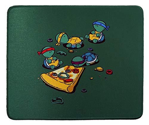 12 x 10 inches Teenage Mutant Ninja Turtles TMNT Eating Pizza Gaming Mouse Pad
