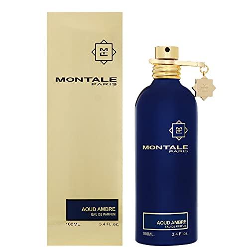 100% auténtico MONTALE AOUD AMBRE Eau de Perfume 100ml Hecho en Francia
