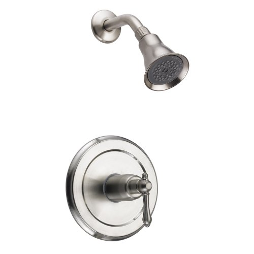 Fontaine Bellver Brushed Nickel Shower Faucet with Valve Set