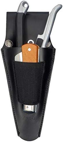NexAx Leather Holster for Pruning Shears Folding Knives Garden Scissor Tool Belt Loop Hand Pruner product image