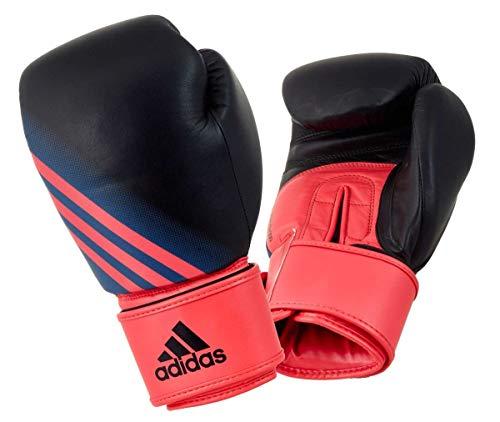 adidas Damen-Boxhandschuhe Speed Women 200, Black/Shock red, ADISBGW200 (10oz.)