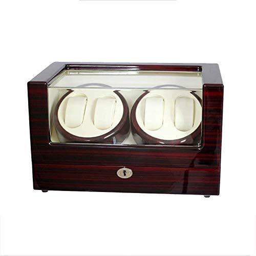 CDPC cajas de reloj Caja de reloj reloj mecánico reloj automático Shaker Winding Box Caja de almacenamiento Medidor de giro Swing reloj Swing caja de moda moda