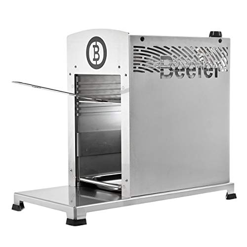 Beefer Barbecue 01110001 - Version Professionnelle - en Acier Inoxydable - 23,2 x 40 x 47,2 cm