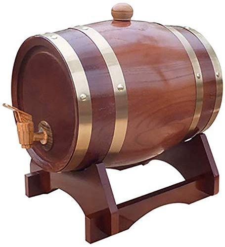 NOOYC Tonneau à vin en chêne, Du...