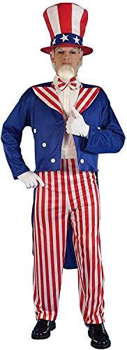 Forum Novelties - CS956707 - Costume oncle sam - taille unique